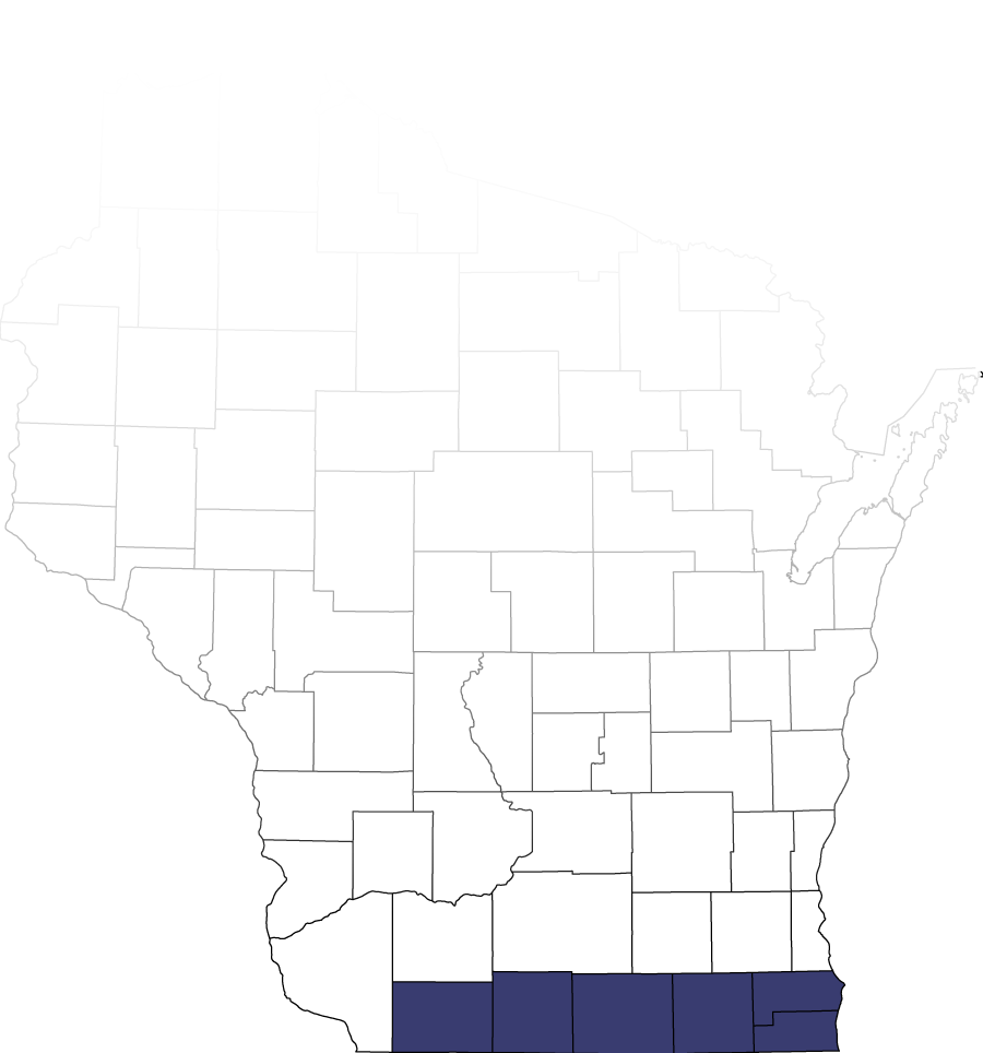 Wisconsin counties that we serve highlighted